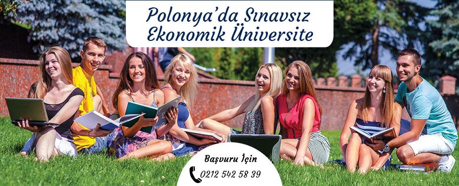 Polonyada Sınavsız Ekonomik Üniversite-1