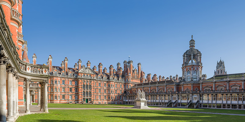 University Of London Royal Holloway College Kingswood Hall